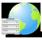 Fast worldwide access Illustration